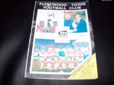 Fleetwood Town v Morecambe, 1988/89 [FAT]